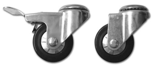 Light Duty Caster Wheel PTF-HS050-TPU & PTF-HL050-TPU