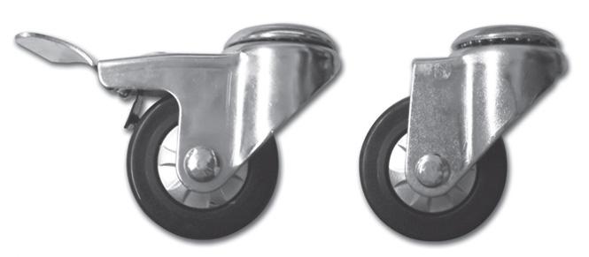 Light Duty Caster Wheel PTF-HS075-TPU & PTF-HL075-TPU