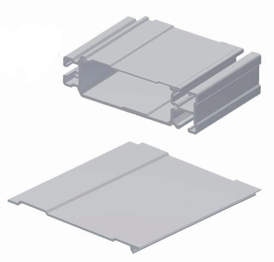 Aluminium Cover Strip PTA-AS43150-8