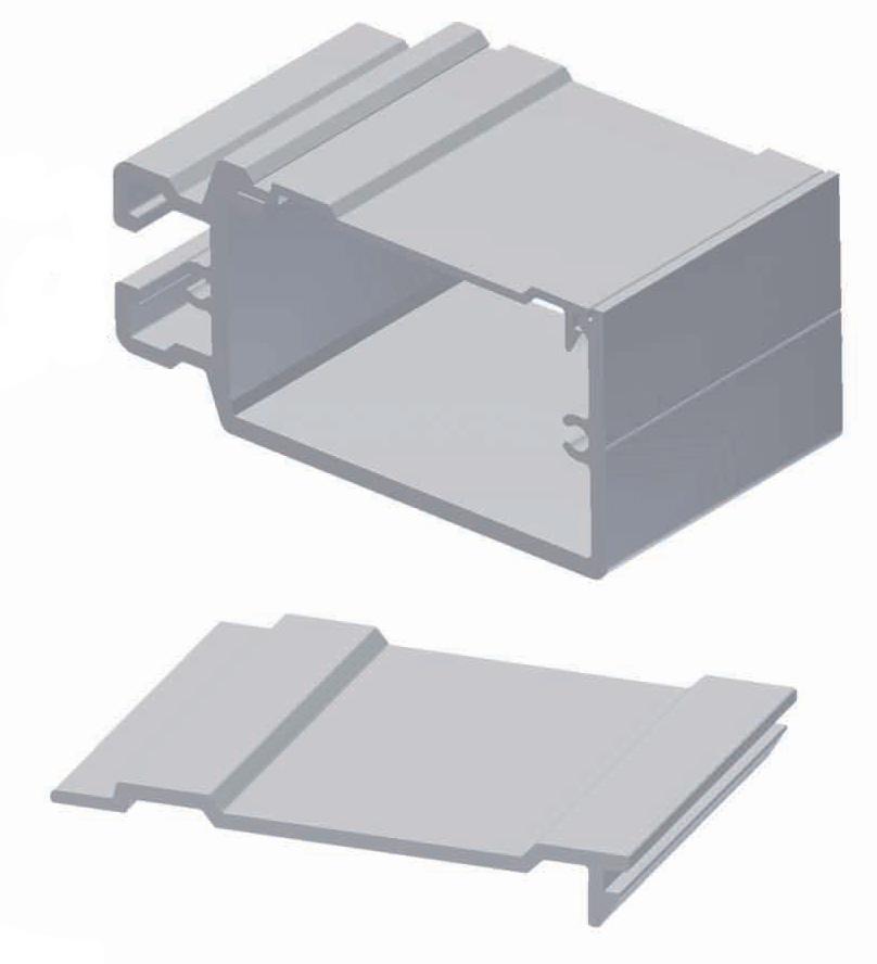 Aluminium Cover Strip PTA-AS4388-8